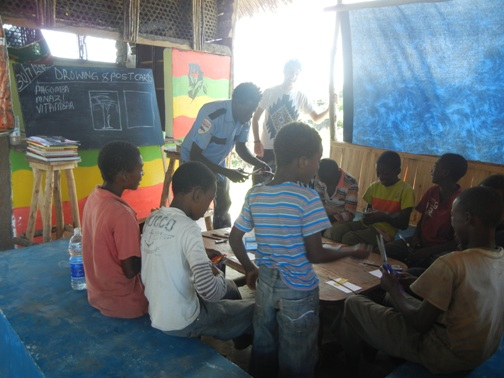 Arts-Workshop in Nungwi/Zanzibar