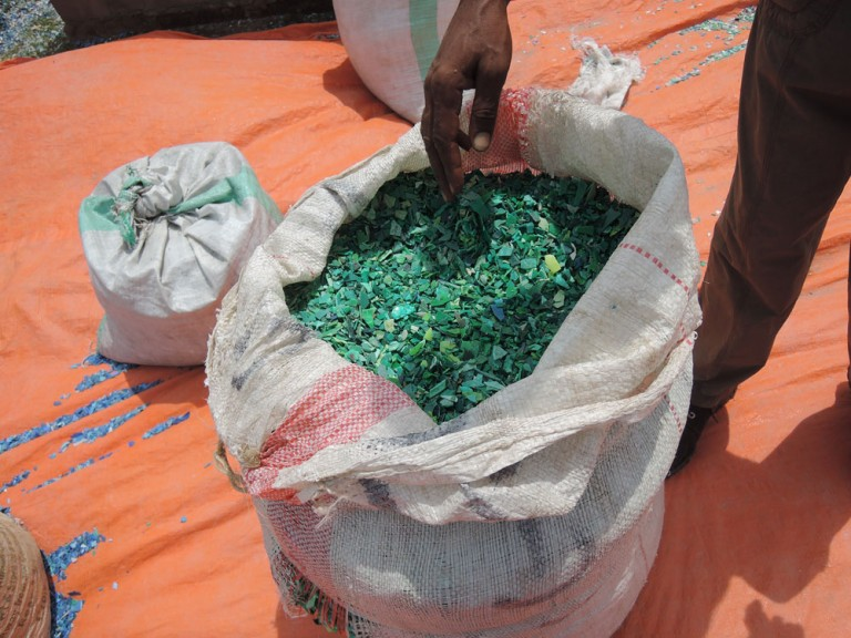Support of the Recycling Center in Nungwi/Zanzibar